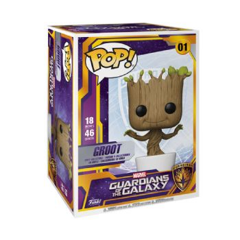 "Funko Pop! Vinyl 18"" Guardians of the Galaxy Potted Groot Figure - Pre-Order"